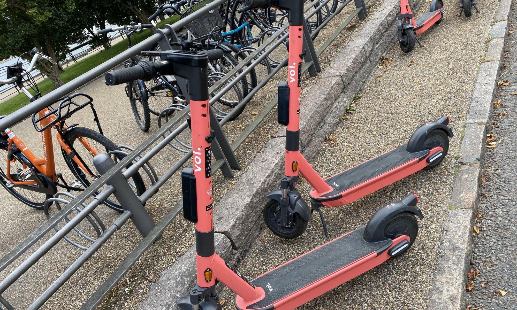 E-Scooter, København