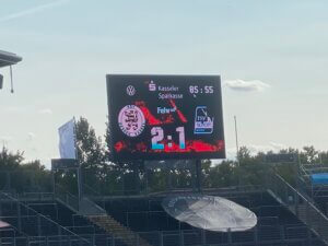 KSV Hessen Kassel - TSV Schott Mainz, Auestadion, Kassel