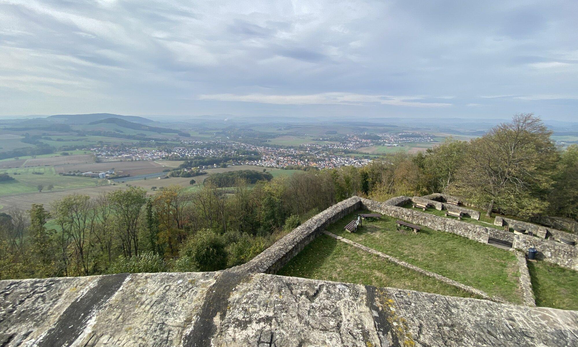 Burg Heiligenberg, Gensungen, Felsberg