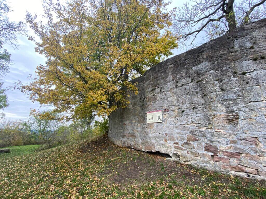 Burgruine Falkenstein, Bad Emstal