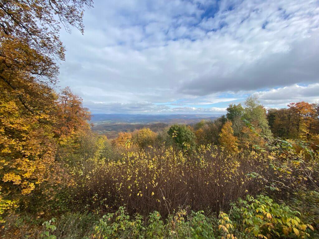 View from Bilstein, Kaufunger Wald