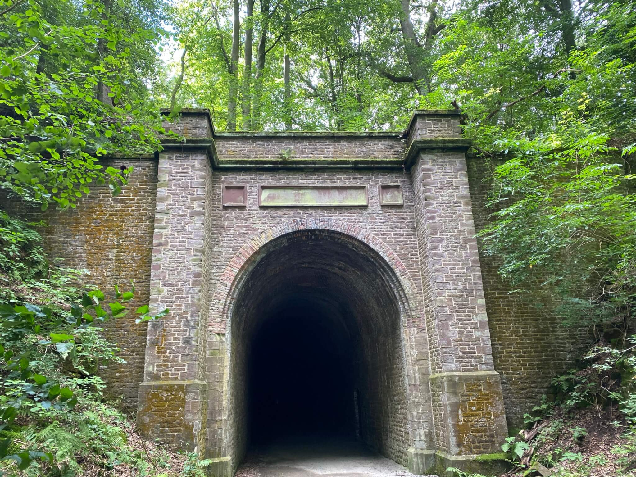 Northern portal of Carlsbahn-Tunnel/Deiseler Tunnel, Trendelburg