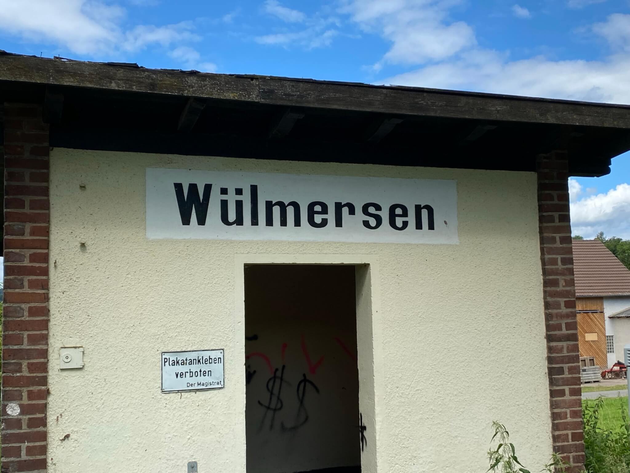 Haltepunkt Wülmersen, Trendelburg