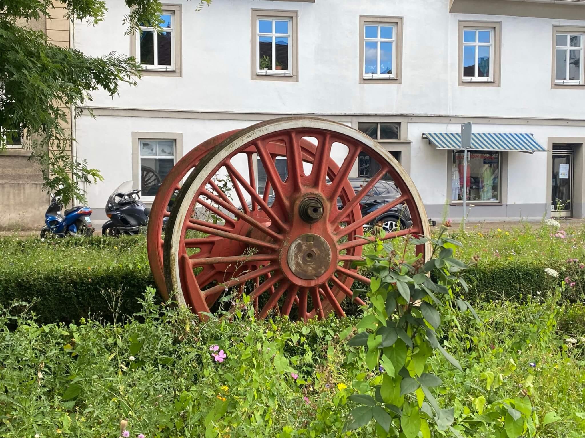 Carlsbahn memorial, Bad Karlshafen