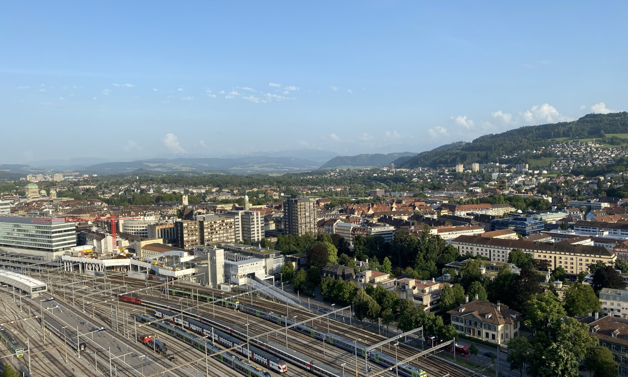 View from PinkLime, Bern